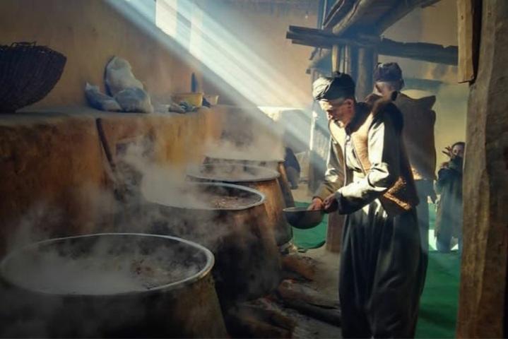 مطبخ مراسم پیرشالیار