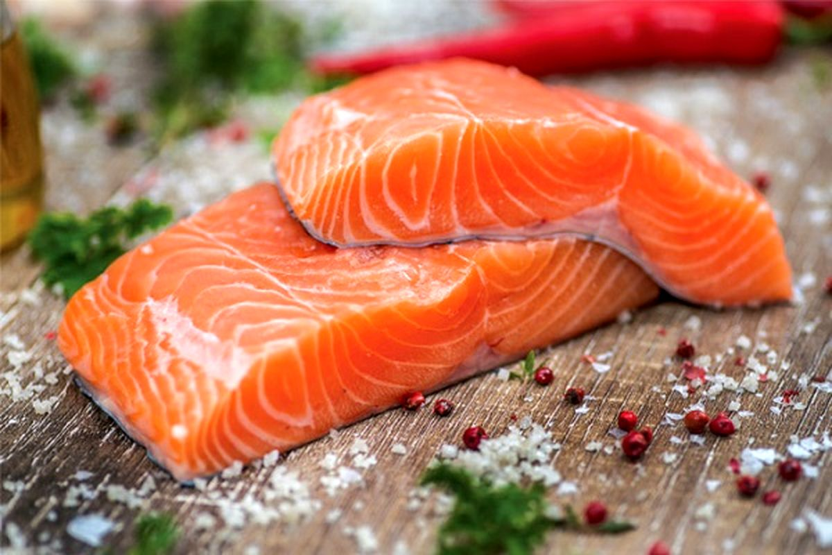 شعبده تبدیل ماهی قزل آلا به سالمون